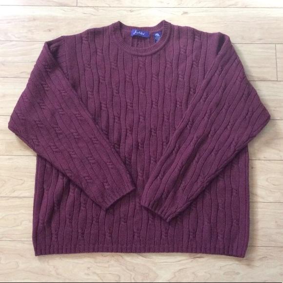 John Ashford Other - J. Ashford Men's Cable Knit Sweater